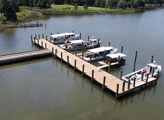 Davis, Bowen Friedel coastal projectSt. Michaels Waterman Dock